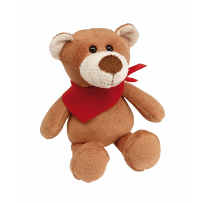 Picture of TUBBS PLUSH SOFT TOY BEAR in Brown