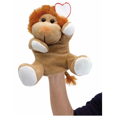 Picture of LION KNOX PLUSH GLOVE-PUPPET