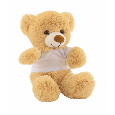Picture of ALEXANDER PLUSH-BEAR in Brown & White