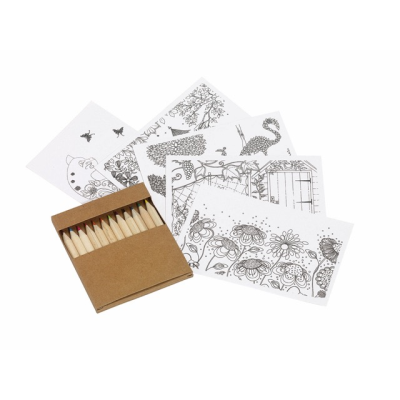 Picture of COLOURING SET MULTI COLOUR