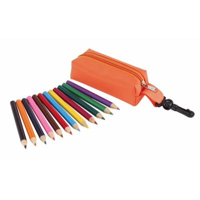 Picture of SMALL IDEA PENCIL CASE in Orange
