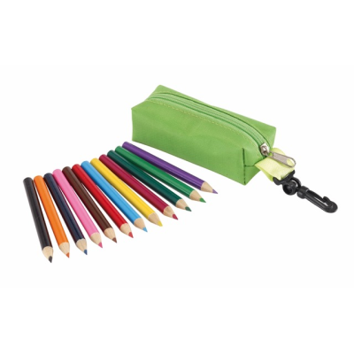 Picture of SMALL IDEA PENCIL CASE in Green