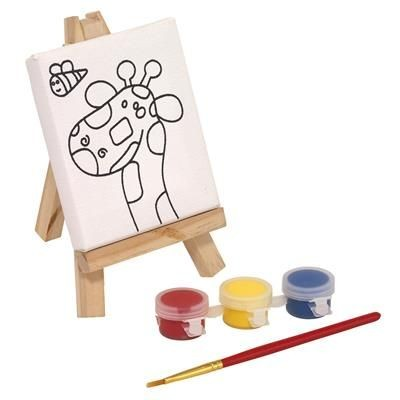 Picture of PAINTING SET BRUSH & EASEL
