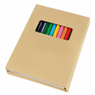 Picture of COLOURING SET COLOURFUL BOOK