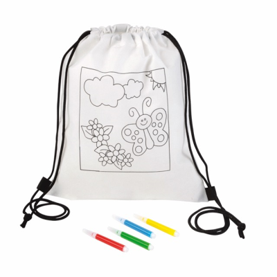 Picture of BACKPACK RUCKSACK FOR COLOURING COLOURFUL HOBBY