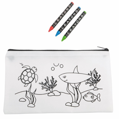Picture of COLOURFUL SCHOOL PENCIL CASE