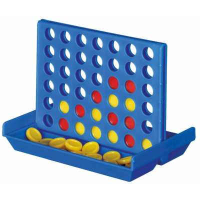 Picture of CONNECT FOUR STYLE TRAVEL GAME in Blue