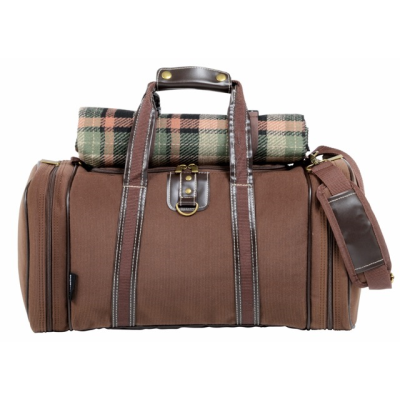 Picture of 4 PICKNICK FOUR PERSON PICNIC BAG in Brown