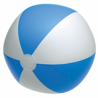 Picture of INFLATABLE BEACH BALL in Blue & White