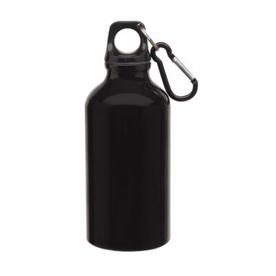 Picture of TRANSIT ALUMINIUM METAL SPORTS DRINK BOTTLE in Black