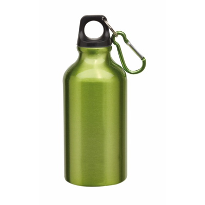 Picture of TRANSIT ALUMINIUM METAL SPORTS DRINK BOTTLE in Green