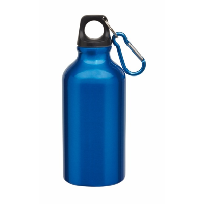 Picture of TRANSIT ALUMINIUM METAL SPORTS DRINK BOTTLE in Blue