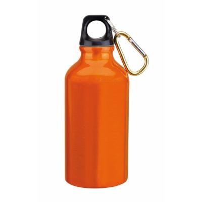 Picture of TRANSIT ALUMINIUM METAL SPORTS DRINK BOTTLE in Orange