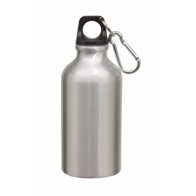 Picture of TRANSIT ALUMINIUM METAL SPORTS DRINK BOTTLE in Silver