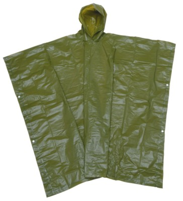 Picture of NEVER WET RAIN PONCHO with Hood in Green