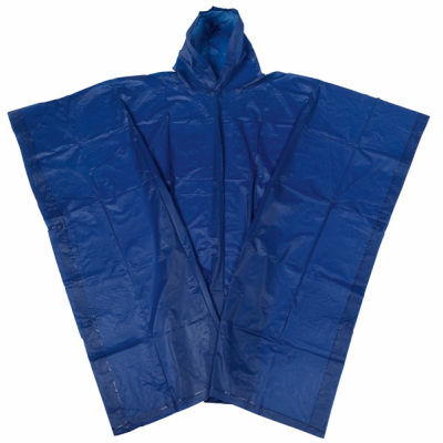 Picture of ALWAYS PROTECT RAIN PONCHO with Hood in Blue