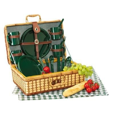 Picture of WICKER PICNIC BASKET