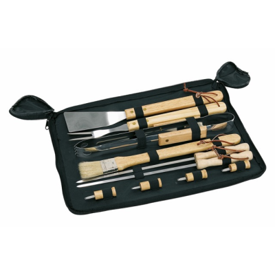 Picture of BARBECUE SET with Wood Handle