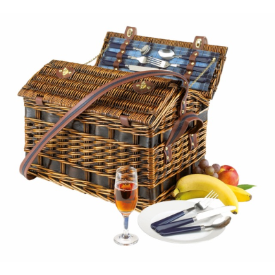 Picture of SUMMERTIME WILLOW PICNIC BASKET & ACCESSORIES