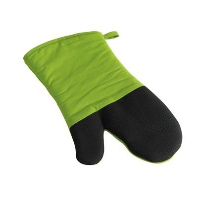 Picture of STAY COOL BBQ GLOVES in Black & Pale Green