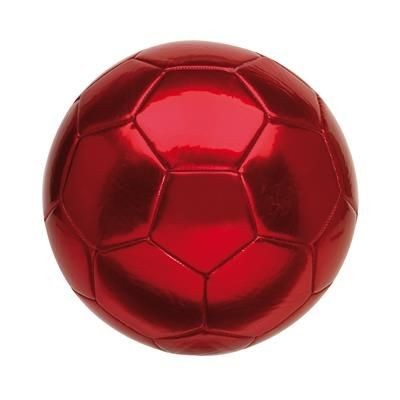 Picture of KICK SIZE 5 PVC FOOTBALL in Red