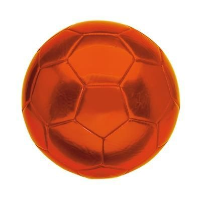 Picture of KICK SIZE 5 PVC FOOTBALL in Orange