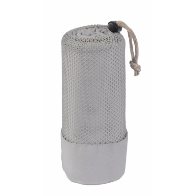 Picture of FRESHNESS MICROFIBRE TOWEL in Grey