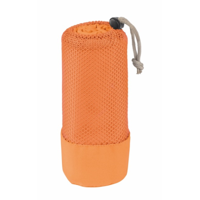 Picture of FRESHNESS MICROFIBRE TOWEL in Orange