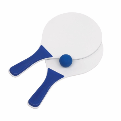 Picture of BEACH TENNIS GAME SET in Blue & White