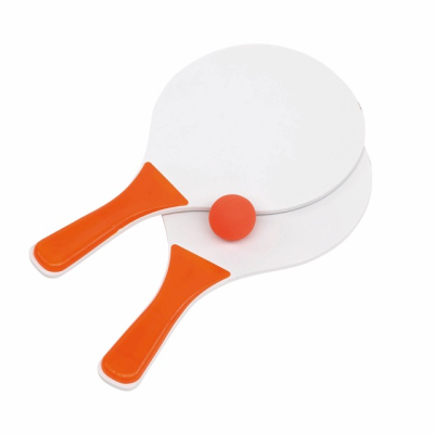 Picture of BEACH TENNIS GAME SET in Orange & White