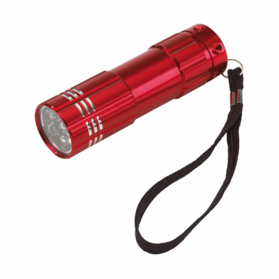 Picture of POWERFUL LED HAND HELD TORCH in Red