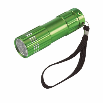 Picture of POWERFUL LED HAND HELD TORCH in Green
