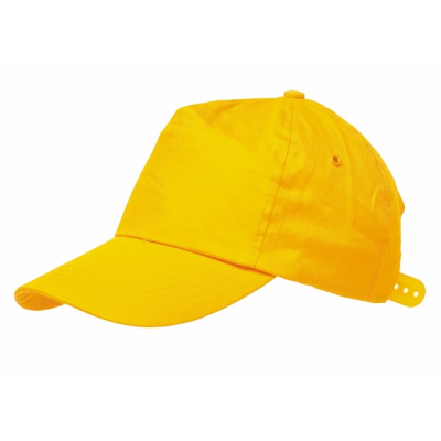 Picture of BASEBALL CAP in Yellow