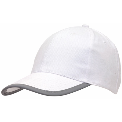 Picture of DETECTION REFLECTIVE BASEBALL CAP in White