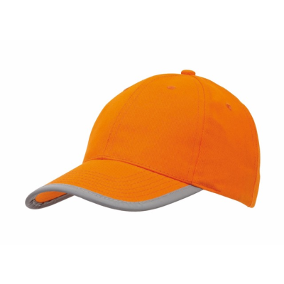 Picture of DETECTION REFLECTIVE BASEBALL CAP in Orange