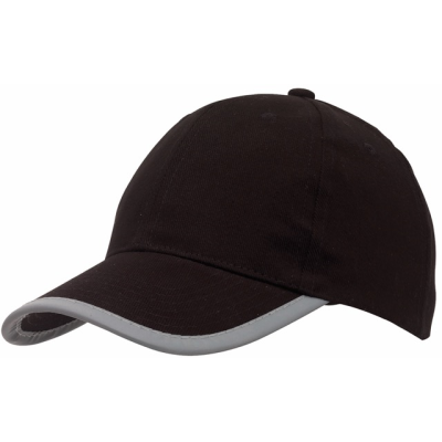 Picture of DETECTION REFLECTIVE BASEBALL CAP in Black