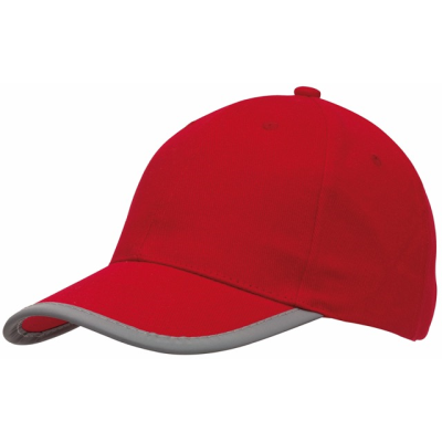 Picture of DETECTION REFLECTIVE BASEBALL CAP in Red