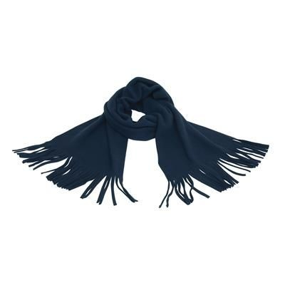 Picture of FLEECE SCARF in Navy Blue