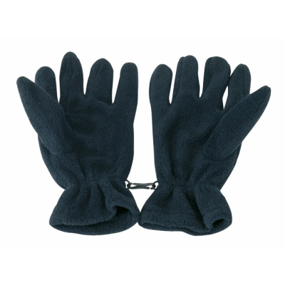 Picture of FLEECE GLOVES in Navy Blue