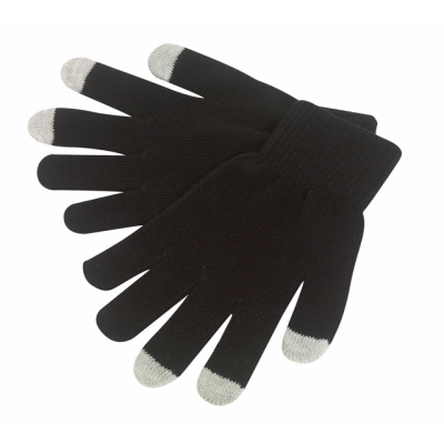 Picture of OPERATE TOUCH SCREEN GLOVES in Black