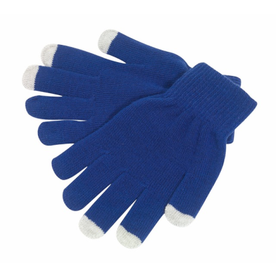 Picture of OPERATE TOUCH SCREEN GLOVES in Blue