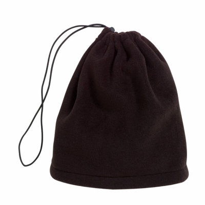 Picture of VARIOUS 2-IN-1 FLEECE SCARF & CAP in Black