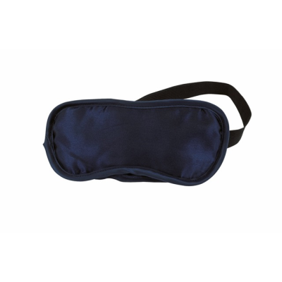 Picture of EYE MASK in Navy Blue Satin Polyester