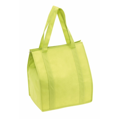 Picture of DEGREE NON WOVEN COOL BAG in Pale Green