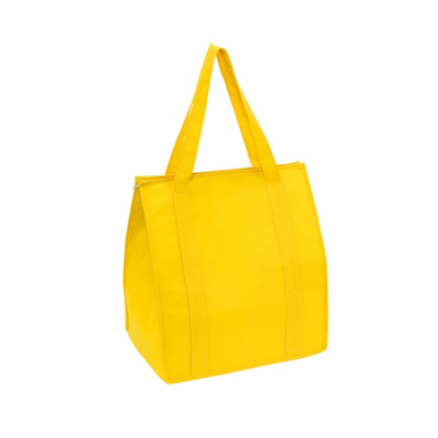 Picture of DEGREE NON WOVEN COOL BAG in Yellow
