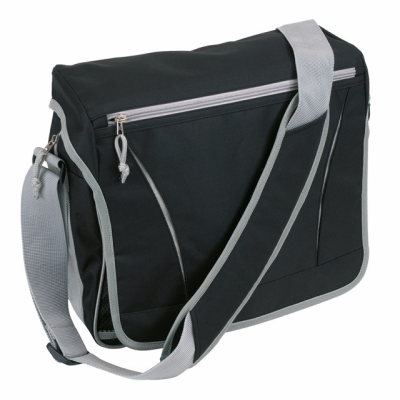 Picture of AFRICA BUSINESS BAG in Black & Grey