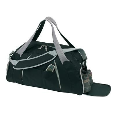 Picture of SPORTS BAG AFRICA in Black & Grey