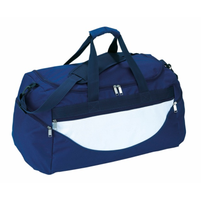 Picture of SPORTS BAG CHAMP in Dark Blue & White