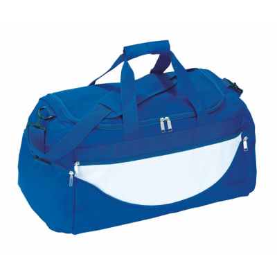 Picture of SPORTS BAG CHAMP in Royal Blue & White