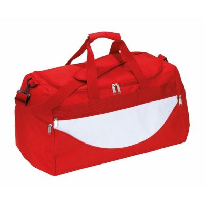 Picture of SPORTS BAG CHAMP in Red & White
